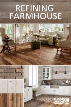 Refining genuine farmhouse style...