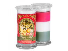 Jennean Bruner's Store - British Columbia   Naughty or Nice Christmas Tree Candle - Jewelry In Candles