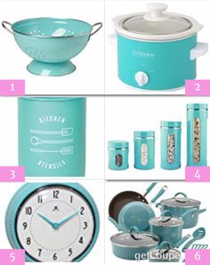 These are the Tiffany Blue kitchen accessories she wants for her wedding shower from me – and I found them ALL! Aren't they pretty!?! If you love a Tiffany Blue kitchen too… I found LOTS of Tiffany Blue Kitchen Accessories Here. Be sure to bookmark that page above – big selection, good prices, and …