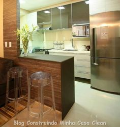Cozinhas Pequenas! Sofisticadas e Planejadas!!!