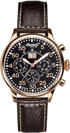 Zegarek męski Ingersoll IN1824RBK - sklep internetowy www.zegarek.net