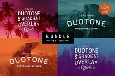 Color Effects Photoshop Bundle by skyboxcreative on Creative Market