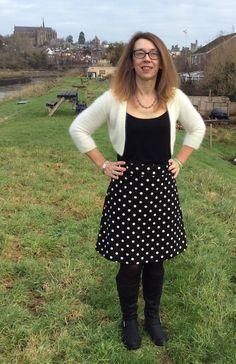 Dotty Delphine skirt