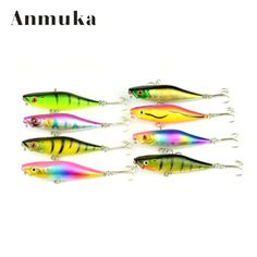 Anmuka High Quality 1Pcs 7.5g/7.5cm Poppers Fishing Lure Top Water Pesca Fish Lures Wobbler Isca Artificial Hard Bait #Affiliate