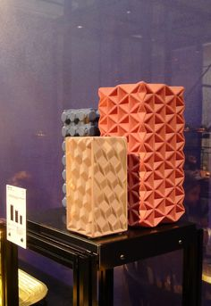 MOST: Grid vases by Eclectic by Tom Dixon