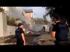 Offices of Ukrainian TV channel accused of pro Russian views attacked, s...
