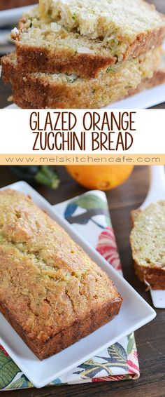 This unique and absolutely delicious variation on zucchini bread will make you wish you had more zucchini!