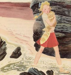 Runaway Home: The Alice And Jerry Books (Reading Foundation Series) by Elizabeth Coatsworth and Mabel O'Donnell, illustrated by Gustaf Tenggren (1949)