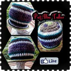 Invierno fome??? Nooooooo 😂😂😂😂 Gorrito colorido y calientito tejido a crochet  #PatAlbaTaller #diseñodeautor #emprendedora #artesana #handmade #tejidos #crochet #confeccionapedido #regalounico