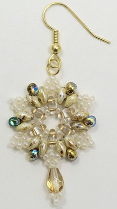 Deb Roberti's FREE Snowflake Earrings Pattern