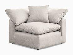 Bryant U-Sofa Bumper Sectional piece) Buy Furniture Online, Furniture Sale, Custom Furniture, Furniture Design, Modern Shop, Mid-century Modern, Dream Furniture, Corner Chair, Single Sofa