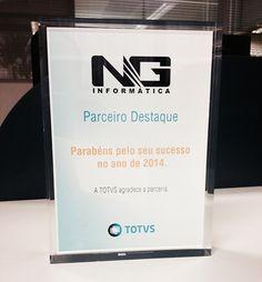 Prêmio Parceiro Destaque TOTVS 2014