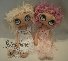 Starr and Cira, by Lesley Jane Dolls. So cute!