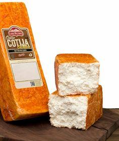 Queso Cotija Enchilado Los Altos (queso curado con Chile) Mexico
