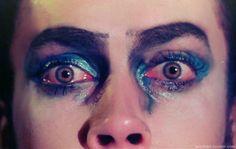 Zu den beliebtesten Tags für dieses Bild zählen: eyes, art, grunge, Tim Curry und frank n furter