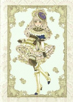 Sakizo's Original Art Book; vol. 14 - Girl meets Sweets-blueberry cheesecake