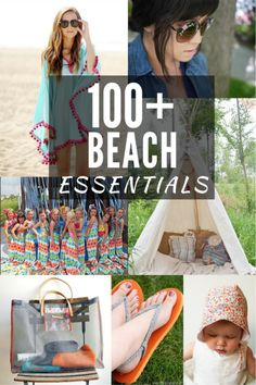 100+ Beach Must Haves. These patterns are easy to sew for any skill level. Includes a wide range of styles including: cover ups, games, bags and more. The Sewing Loft