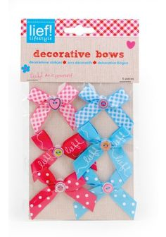 Do it yourself - decorative bows: lief! lifestyle