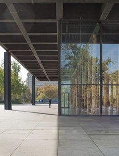 """David Chipperfield's """"Sticks and Stones"""" Toys with Mies Van Der Rohe's Bones in Berlin #stunning #exhibition"""
