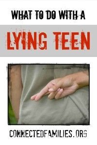 What Do I Do with a Lying Teen Recently a parent wrote in to ask about their who had been lying a lot. Here are some basic specific tips to help when your teen struggles with lying. Kids Lying, Raising Teenagers, Parenting Teenagers, Lying Children, Raising Kids Quotes, Parenting Websites, Co Parenting, Foster Parenting, Children