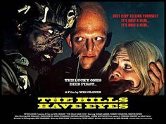 Wes Craven is one of my favorite horror directors and I've done lists for Scream and A Nightmare on Elm Street, so let's look at ten things you might not know about The Hills Have Eyes. The Hills Have Eyes, Scary Movies, Old Movies, Scary Scary, Wes Craven Movies, Scream, Selena, Dee Wallace, 1980s