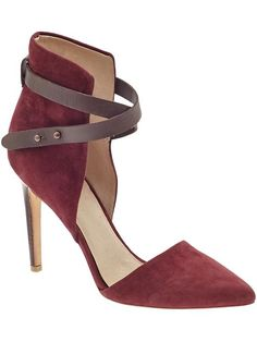 Joe's Laney - Red/Chocolate - loving this color combination for fall fashion week