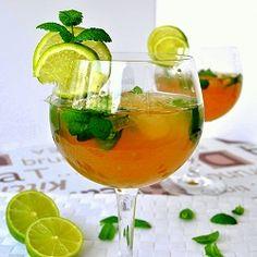 Mojito recipe! The original Mojito cocktail with mint, white rum, brown sugar, and soda