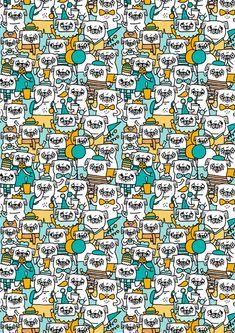 Pug pattern by Gemma Correll