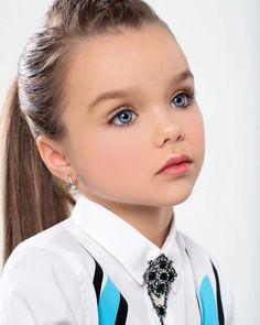 Meet Anastasia Knyazeva—The Most Beautiful Girl In The World! Pretty Kids, Beautiful Little Girls, Cute Little Baby, Cute Baby Girl, Beautiful Children, Beautiful Eyes, Beautiful Babies, Cute Girls, Cute Babies