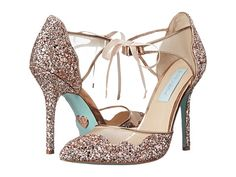 Blue by Betsey Johnson Stela Champagne Glitter - Zappos.com Free Shipping BOTH Ways