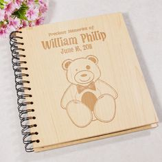 Our Personalized Baby Photo Album is beautifully engraved with your baby's name & birth date and a cute bear. All our Baby Gifts are Personalized FAST & EASY. New Baby Photos, 6 Photos, Baby Pictures, Personalized Photo Albums, Personalized Gifts For Kids, Keepsake Baby Gifts, New Baby Gifts, Baby Picture Frames, Picture Engraving