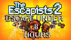 Escapists 2 Escape Center Perks 2 0 under 8 hours! The Escapists, 8 Hours, Pc Gamer, Xbox, Videogames, Nintendo, Gaming, Watch, Funny