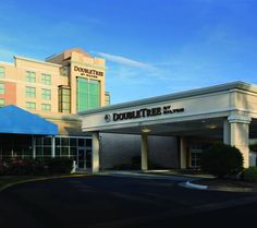 DoubleTree by Hilton Norfolk Airport (1500 North Military Highway) This hotel is just off Interstate 64, two miles from Norfolk International Airport. The hotel offers free airport shuttle service, an indoor/outdoor pool and free Wi-Fi in all guest rooms. #bestworldhotels #hotel #hotels #travel #us #virginia