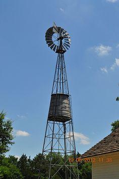 Jimmy Carter Boyhood Farm Windmill Plains Ga Farm Gardens, Garden Farm, Farm Windmill, Blowin' In The Wind, Old Windmills, Water Powers, Water Mill, Travel Oklahoma, Old Barns