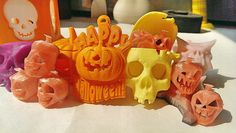 Enjoy the Halloween! The models are all from MBot printer.