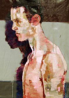 Saatchi Online Artist: Andrew Salgado; Oil, 2013, Painting Recovery (Performance IV)