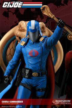 Polystone Diorama - G.I. Joe - Cobra Commander Diorama #2629