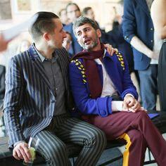 Marc Jacobs, toujours aussi accro aux manteaux Prada !