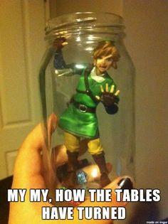 Fairies have their revenge #LegendofZelda