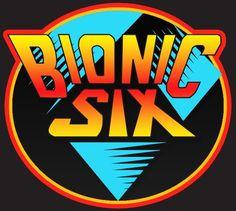 80's Cartoon Classic Bionic 6 Six Logo custom tee
