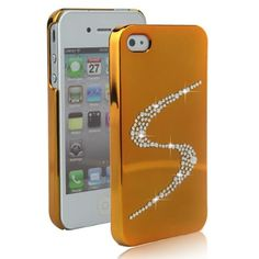 Seghesio Series for iPhone 4/4S (Swarovski Crystal Hard Case,Gold) iPhone Cases Seghesio Series