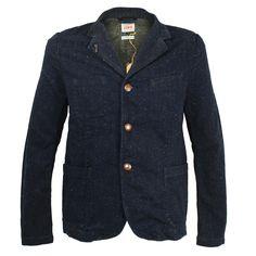 Edwin  Redford Blue Rinsed Jacket