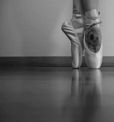 crazy how much this is me. skulls on the feet, and never lose the love of ballet