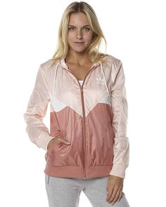 Casual Wear, Casual Outfits, Fashion Outfits, Sneakers Fashion, Windbreaker Outfit, Adidas Outfit, Surf Outfit, Red Hoodie, Pink Adidas