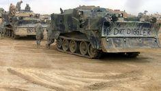 Ingenjörstrupperna under Operation Desert Storm - Övriga fordon - Militärhistoria iFokus