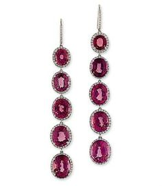 Manuel Bouvier | PAIR OF SPINEL AND DIAMOND EAR PENDANTS, BY MANUEL BOUVIER | Jewelry ...