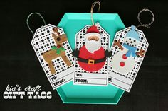 Kid's Craft Gift Tags - Design Dazzle