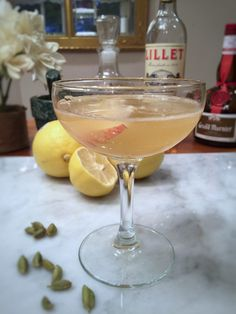 Cardamom Pear Sidecar. The pear and cardamom combination is simply too perfect to ignore. Problem is, many of us don't ordinarily keep on hand whole cardamom seeds. If you cant find it at your local grocery shop, try Whole Cardamom Pods Tin.