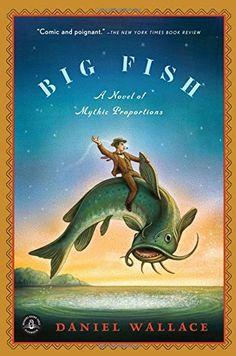 Big Fish: A Novel of Mythic Proportions by Daniel Wallace http://www.amazon.com/dp/1616201649/ref=cm_sw_r_pi_dp_DhcHwb1VXG8Y2