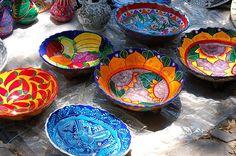 Ajijic Tianguis Pottery, Mexico